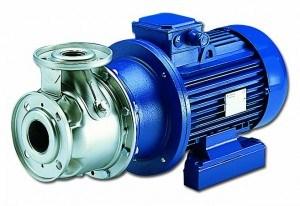 SH išcentriniai galinio pasiurbimo siurbliai iš AISI 316 nerūdijančio plieno atitinkantys EN 733 – DIN 24255