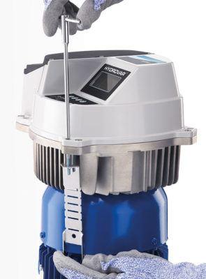 """HV 3.30 - 3.45 """"Hydrovar"""" prie sienos montuojamas siurblio kontroleris 30-45 kW"""